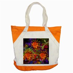 Abstract Flowers Floral Decorative Accent Tote Bag