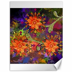 Abstract Flowers Floral Decorative Canvas 36  X 48