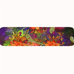 Abstract Flowers Floral Decorative Large Bar Mats