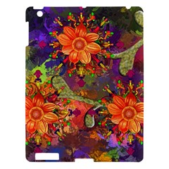 Abstract Flowers Floral Decorative Apple Ipad 3/4 Hardshell Case
