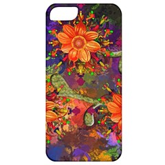 Abstract Flowers Floral Decorative Apple Iphone 5 Classic Hardshell Case