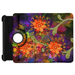 Abstract Flowers Floral Decorative Kindle Fire Hd 7