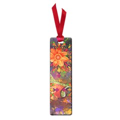 Abstract Flowers Floral Decorative Small Book Marks