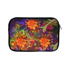 Abstract Flowers Floral Decorative Apple Ipad Mini Zipper Cases