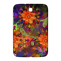 Abstract Flowers Floral Decorative Samsung Galaxy Note 8 0 N5100 Hardshell Case