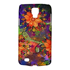 Abstract Flowers Floral Decorative Galaxy S4 Active