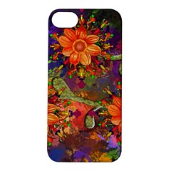 Abstract Flowers Floral Decorative Apple Iphone 5s/ Se Hardshell Case