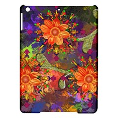 Abstract Flowers Floral Decorative Ipad Air Hardshell Cases