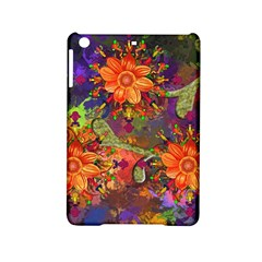 Abstract Flowers Floral Decorative Ipad Mini 2 Hardshell Cases