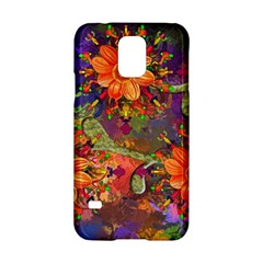Abstract Flowers Floral Decorative Samsung Galaxy S5 Hardshell Case