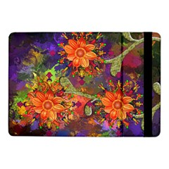 Abstract Flowers Floral Decorative Samsung Galaxy Tab Pro 10 1  Flip Case