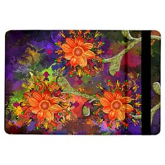 Abstract Flowers Floral Decorative Ipad Air Flip