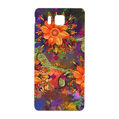 Abstract Flowers Floral Decorative Samsung Galaxy Alpha Hardshell Back Case