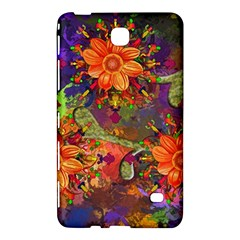 Abstract Flowers Floral Decorative Samsung Galaxy Tab 4 (8 ) Hardshell Case