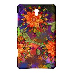 Abstract Flowers Floral Decorative Samsung Galaxy Tab S (8 4 ) Hardshell Case