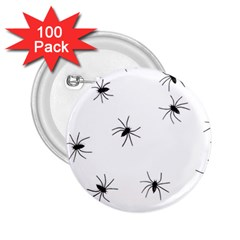 Animals Arachnophobia Seamless 2 25  Buttons (100 Pack)