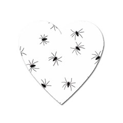 Animals Arachnophobia Seamless Heart Magnet