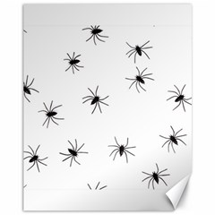 Animals Arachnophobia Seamless Canvas 11  X 14