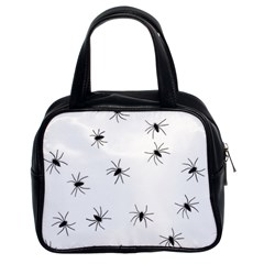 Animals Arachnophobia Seamless Classic Handbags (2 Sides)