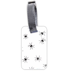 Animals Arachnophobia Seamless Luggage Tags (one Side)
