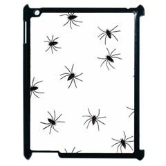 Animals Arachnophobia Seamless Apple iPad 2 Case (Black)