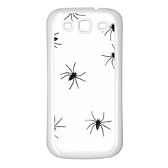 Animals Arachnophobia Seamless Samsung Galaxy S3 Back Case (white)
