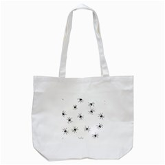 Animals Arachnophobia Seamless Tote Bag (white)