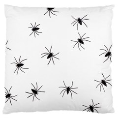 Animals Arachnophobia Seamless Large Flano Cushion Case (one Side)