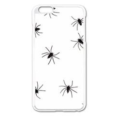 Animals Arachnophobia Seamless Apple Iphone 6 Plus/6s Plus Enamel White Case