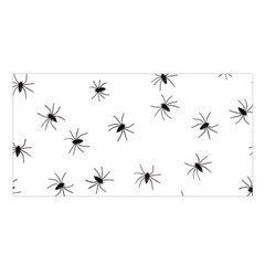 Animals Arachnophobia Seamless Satin Shawl