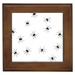 Animals Arachnophobia Seamless Framed Tiles