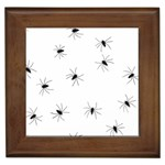Animals Arachnophobia Seamless Framed Tiles Front