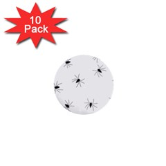 Animals Arachnophobia Seamless 1  Mini Buttons (10 pack)