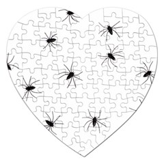 Animals Arachnophobia Seamless Jigsaw Puzzle (heart)