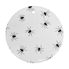 Animals Arachnophobia Seamless Round Ornament (two Sides)