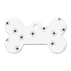 Animals Arachnophobia Seamless Dog Tag Bone (two Sides)