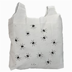 Animals Arachnophobia Seamless Recycle Bag (one Side)