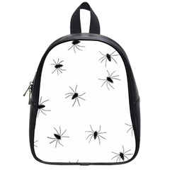Animals Arachnophobia Seamless School Bags (small)