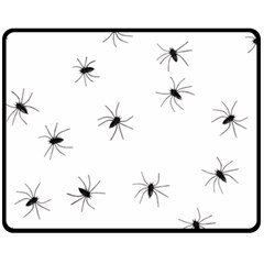 Animals Arachnophobia Seamless Fleece Blanket (medium)