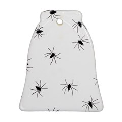 Animals Arachnophobia Seamless Bell Ornament (two Sides)