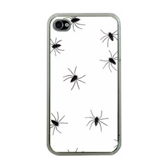 Animals Arachnophobia Seamless Apple Iphone 4 Case (clear)