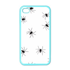 Animals Arachnophobia Seamless Apple Iphone 4 Case (color)