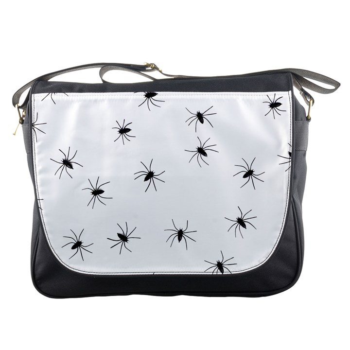 Animals Arachnophobia Seamless Messenger Bags
