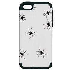 Animals Arachnophobia Seamless Apple Iphone 5 Hardshell Case (pc+silicone)