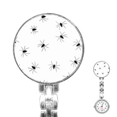 Animals Arachnophobia Seamless Stainless Steel Nurses Watch