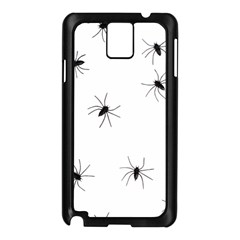 Animals Arachnophobia Seamless Samsung Galaxy Note 3 N9005 Case (black)