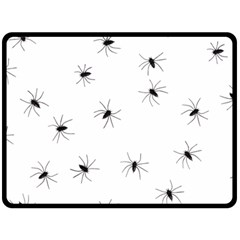 Animals Arachnophobia Seamless Double Sided Fleece Blanket (large)