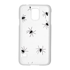 Animals Arachnophobia Seamless Samsung Galaxy S5 Case (white)