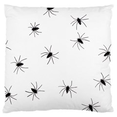 Animals Arachnophobia Seamless Large Flano Cushion Case (two Sides)