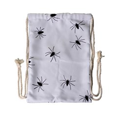 Animals Arachnophobia Seamless Drawstring Bag (small)